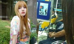 """""""ลิซ่า BLACKPINK"""" นั่งรถทัวร์จากบุรีรัมย์ ภาพติดดินที่ถูกแชร์อีกครั้งในโซเชียล"""