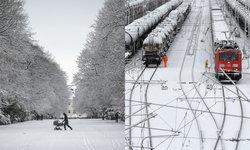 """หนาวจริงไม่อิงอร! ประมวลภาพ """"หิมะ"""" ถล่มทั่วยุโรป ขาวโพลนทั้งเมืองแบบไม่เกรงใจ"""