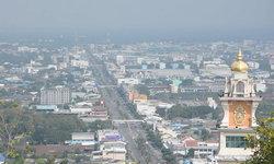 """""""ฝุ่น PM 2.5"""" เขมือบเมือง! ราชบุรีเป็นพื้นที่สีส้มแล้ว เตือน ปชช.สวม """"หน้ากาก N95"""""""
