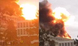 ด่วน! แก๊สระเบิด-ไฟลุกท่วมที่มหาวิทยาลัยในเมืองลียง ฝรั่งเศส (มีคลิป)