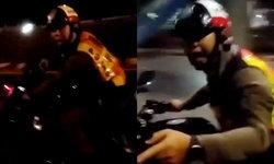 ตำรวจแจงคลิปแชร์ว่อน ไล่ล่ายิงสกัดรถกลางสะพาน เพราะซิ่งหนีด่านตรวจ