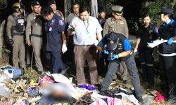 ฆาตกรรมโหด-ตำรวจไล่ล่ามือแทงดับชายเก็บของเก่า ถูกฆ่าปาดคอนอนตายข้างกองขยะ