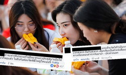 """ส่องคอมเมนต์เด็ด! หลังชาวเน็ตเห็นข่าวรัฐทุ่มเงินจัดเลี้ยง """"ข้าวเหนียวมะม่วง"""" นักท่องเที่ยวจีน"""
