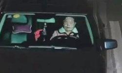 """เสียดาย...หญิงจีน """"มาสก์หน้า"""" เสริมสวยขณะขับรถ โดนทั้งปรับ-ตัดแต้ม"""