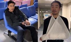 """""""ไฮโซพก"""" แขนหัก ขณะร่วมทริปสวีท เล่นสกีที่ญี่ปุ่น กับ """"อั้ม พัชราภา"""""""