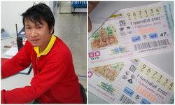 ดวงเฮง! หนุ่มช่างปูนลำปางซื้อหวยหน้าร้านขายยา ถูกรางวัลที่ 1 รับ 12 ล้าน