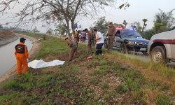 หนุ่มขับมอเตอร์ไซค์กลับบ้าน เกิดเสียหลักชนต้นไม้ข้างทางดับอนาถ