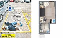 ฮ่องกงเปิดตัวคอนโดฯ ขนาดกะทัดรัด พื้นที่ห้องเล็กจิ๋วพอๆ กับที่จอดรถ