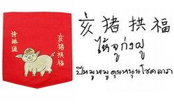 """พรวันตรุษจีนปี 2562 """"สมเด็จพระเทพฯ"""" พระราชทานลายพระหัตถ์ภาษาจีน """"ไห้ จู ก่ง ฝู"""""""