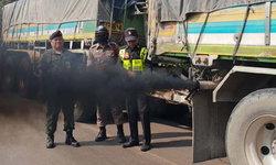 """ขนส่งอยุธยาลุยจับ """"ควันดำ"""" รถบรรทุก-รถโดยสารผ่านสัปดาห์พบกว่า 21 คัน"""