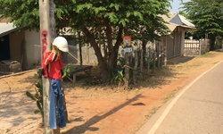 ผวาทั้งหมู่บ้าน! แขวนเสื้อแดงแก้เคล็ดหลังมีคนตายติดต่อกัน เชื่อฤทธิ์ผีแม่หม้าย