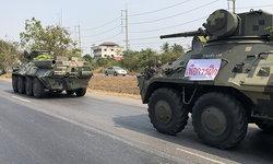 """""""กองทัพ"""" เตือนไว้ก่อน เคลื่อนรถถัง-รถเกราะกลับฐาน วอนอย่าตื่นตระหนก"""