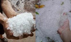 ชาวลำปางโพสต์คลิปหิมะเมืองไทย อันตรายหัวแตก! หลังพายุลูกเห็บถล่มอย่างหนัก