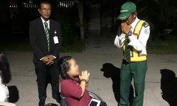 เจ้าของรถหรู-รปภ.ยกมือไหว้ขอโทษสาวพิการ ปิดฉากดราม่าที่จอดรถห้าง