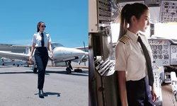 """สวยตะลึงมากๆ """"แอฟ ทักษอร"""" กับมาดใหม่แต่งเต็มยศในลุคนักบินสุดเท่"""