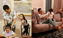 """ภาพน่ารัก """"น้องปีใหม่"""" อยู่กับ """"พ่อสงกรานต์"""" วันว่างได้เล่นกันตามประสาพ่อลูก (มีคลิป)"""
