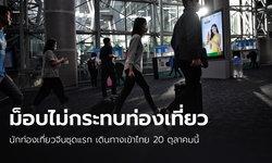 ผู้ว่าฯ ททท.ยัน 20 ต.ค.นักท่องเที่ยวจีนชุดแรกเข้าไทย