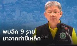อธิบดีกรมควบคุมโรคเผย คนไทยติดโควิดจากท่าขี้เหล็กอีก 9 ราย