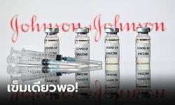 """เข็มเดียวพอ! วัคซีนโควิด-19 ของ """"จอห์นสัน แอนด์ จอห์นสัน"""" ยื่นจดทะเบียนใช้ฉุกเฉินที่สหรัฐแล้ว"""