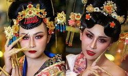 """""""ลาล่า-ลูลู่"""" สวยในลุคใหม่ ถูกเนรมิตให้เป็นฮองเฮา ปังต้อนรับวันตรุษจีน"""