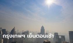 พยากรณ์อากาศ กรุงเทพฯ อากาศเย็นตอนเช้า 19 องศา ภาคเหนือ-อีสาน ยังหนาว