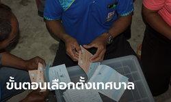 เปิดขั้นตอน เลือกตั้งเทศบาล 28 มีนาคม 2564 ใช้บัตร 2 ใบ เพื่ออนาคตในการพัฒนาท้องถิ่น