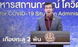 สูงขึ้นอีก! โควิดวันนี้ ศบค.แถลงไทยพบผู้ติดเชื้อเพิ่ม 1,767 ราย ดับอีก 2 ราย