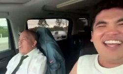 """""""แจ็ค แฟนฉัน"""" ถึงโดนด่า...แต่ก็มีความสุข เปิดคลิป """"น้าค่อม"""" ต่อมุกสด สวมบทคนขับรถให้นาย"""