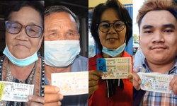 มหาสารคามเมืองคนเฮง มีคนถูกรางวัลที่ 1 ถึง 4 ราย รับทรัพย์รวม 30 ล้าน