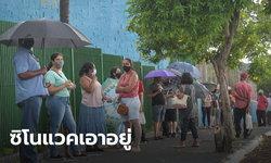 ซิโนแวค อ้างวัคซีนคุมโควิดเมืองในบราซิลอยู่หมัด หลังฉีดให้ชาวบ้านแล้ว 75%