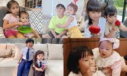 """เปิดภาพ 5 คู่พี่น้องลูกดารา ซุปตาร์ตัวน้อย """"พี่แสนดีน้องแสนน่ารัก"""""""