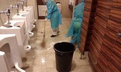 ผู้ป่วยโควิด รพ.สนามบุษราคัม เฮ! แม่บ้านเข้าทำความสะอาดห้องน้ำแล้ว