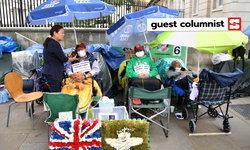 ทำไมทหารผ่านศึกกูรข่าจึงประท้วงอดอาหารรัฐบาลอังกฤษกลางกรุงลอนดอน