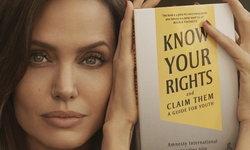 """แองเจลินา โจลี จับมือแอมเนสตี้ เปิดตัวหนังสือ """"Know Your Rights and Claim Them"""""""