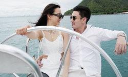 """ทริปหวาน """"กรีน-ธันวา"""" เช็คอินทะเลเกาะล้าน โรแมนติกจนมีลุ้นซีนขอแต่งงาน"""