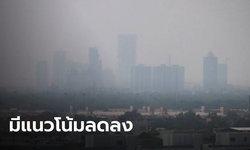 เช้านี้ไม่มีสีแดง! กทม.ค่าฝุ่น PM2.5 ยังเกินมาตรฐาน 19 เขต แต่มีแนวโน้มลดลง