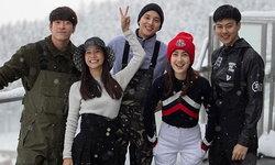 """""""แต้ว-ต้น"""" ควงเล่นสกีที่ญี่ปุ่น เริ่มแล้วทริปหวานกับแก๊งเพื่อน"""