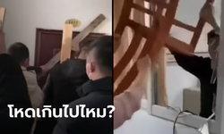 เกินไปไหม? หนุ่มจีนมาจากอู่ฮั่น ที่บ้านไม่ต้อนรับ แถมตอกไม้ปิดขังไว้ในบ้าน (คลิป)