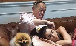 """รักแท้  """"ไอซ์ อภิษฎา"""" นอนหนุนตักคุณพ่อ เผยคำพูดของพ่ออย่างสุดซึ้ง"""