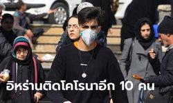 ไวรัสโคโรนา: อิหร่านติดเชื้อเพิ่ม 10 ราย! ยอดสะสม 28 คน ดับแล้ว 5 ศพ
