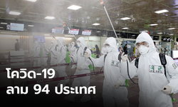 โควิด-19 ลาม 94 ประเทศ เกาหลีป่วย 6,767 อิตาลีตาย 197 ยอดติดเชื้อพุ่งทะลุแสน