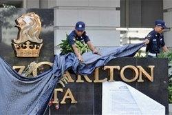 โรงแรมที่เกิดเหตุระเบิดในจาการ์ตาเปิดให้บริการอีกครั้ง