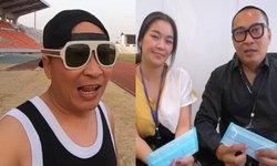 """เพื่อสังคม """"เปิ้ล-จูน"""" มอบหน้ากากอนามัยให้โรงพยาบาลทั่วประเทศ"""