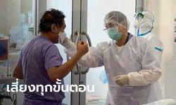 อาจารย์หมอ เผยเบื้องหลังชุด PPE ของบุคลากรการแพทย์ อันตรายที่สุดคือตอนถอด