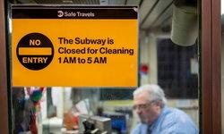 """โควิด-19 ทำพิษ นิวยอร์กสั่งปิดรถไฟใต้ดินรอบดึกเป็นครั้งแรกในรอบ """"115 ปี"""""""