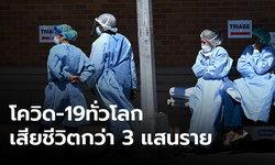 ทั่วโลกป่วยโควิด-19 พุ่ง 4.6 ล้าน เสียชีวิตแล้วกว่า 3 แสน