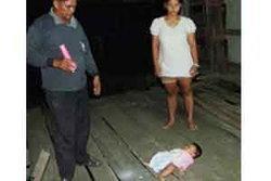 สลด!พ่อเลี้ยงโหดฆ่าลูกเลี้ยงวัย2ขวบดับอนาถ