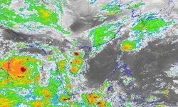 อุตุฯ เตือนพายุไซโคลนอำพัน กระทบ 60 จังหวัดฝนตกหนัก-คลื่นลมแรง