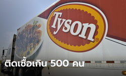 """""""ไทสัน ฟู้ดส์"""" สั่งปิดโรงงานเนื้อหมูด่วน หลังพนักงานติดโควิด-19 กว่า 500 ราย"""