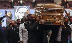 """สุดเศร้า พิธีศพ """"จอร์จ ฟลอยด์"""" ครอบครัวและเพื่อนฝูงร่ำลาครั้งสุดท้าย"""
